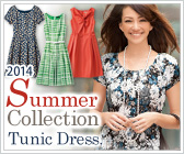 2014 Summer  Collection Tunic Dress