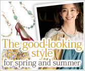 The good-looking style for spring and summer