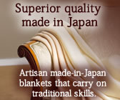 Superior quality made in Japan