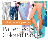 Patterned & Colored Pants