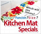 ○Kitchen Mat Special Feature○