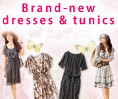 Brand-new dresses & tunics of Spring