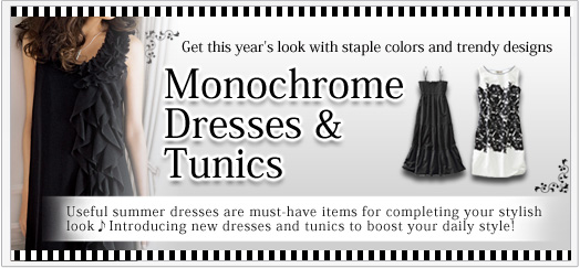 Monochrome Dresses & Tunics